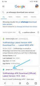 Yo WhatsApp Apk Download
